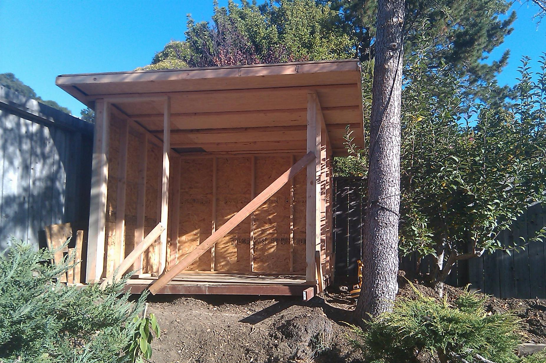 ^ Lean to shed: Guide Modern shed roof