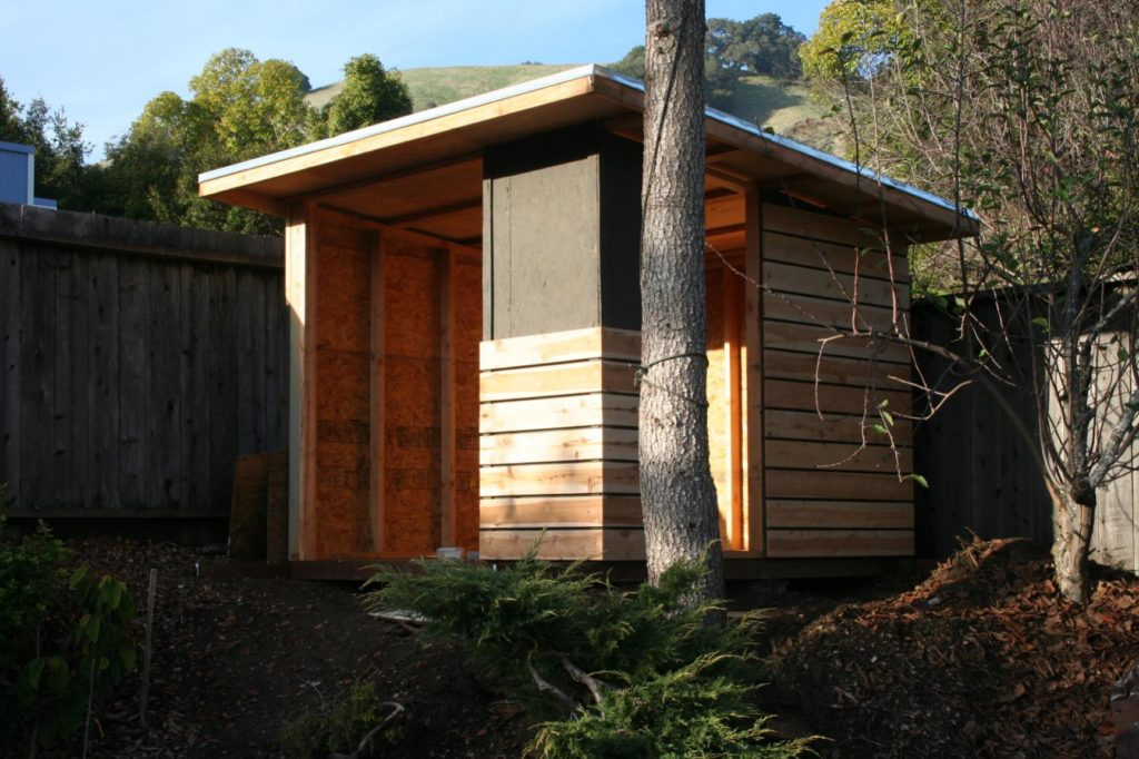 Modern Shed Playhouse Marin Homestead