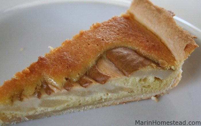 ... Pear Tarte (with Phyllo Crust or Pate Brisee) | Marin Homestead