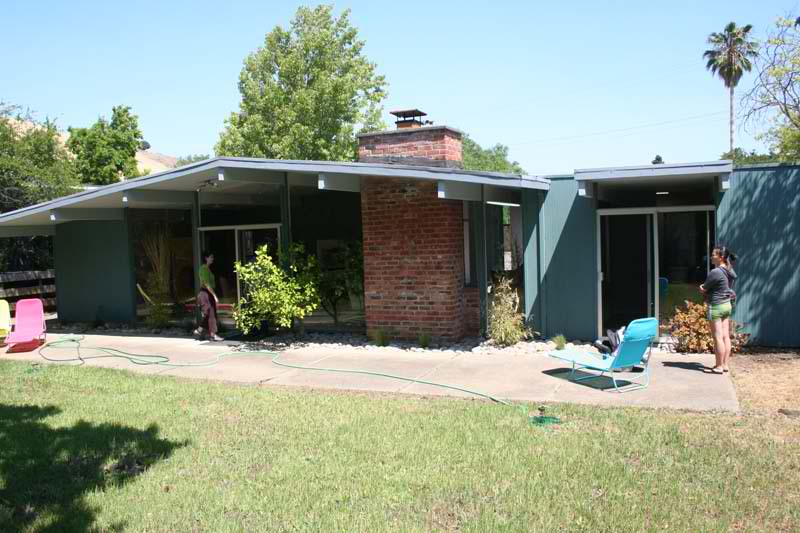 Eichler before renovation pictures