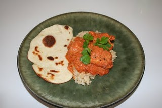 Chicken Tikka Masala and Naan