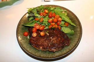 Jan Birnbaum's Cowboy Steak with Tomato Relish