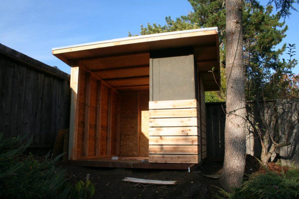 Modern Shed Playhouse Marin Homestead