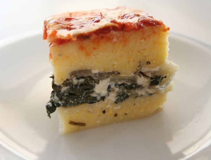 Polenta Lasagna with Swiss Chard | Gluten-Free Recipe