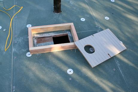 How to build a recessed vent fan in your Eichler bathroom