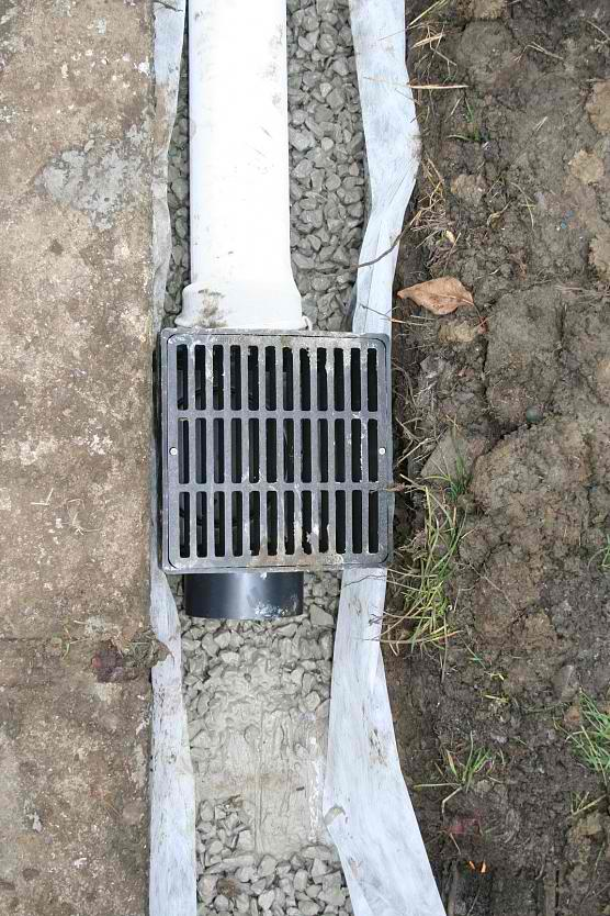 How to install Backyard Drainage / French Drain