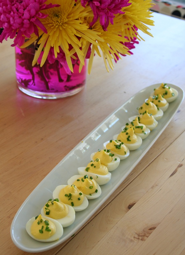 Truffle Deviled Eggs