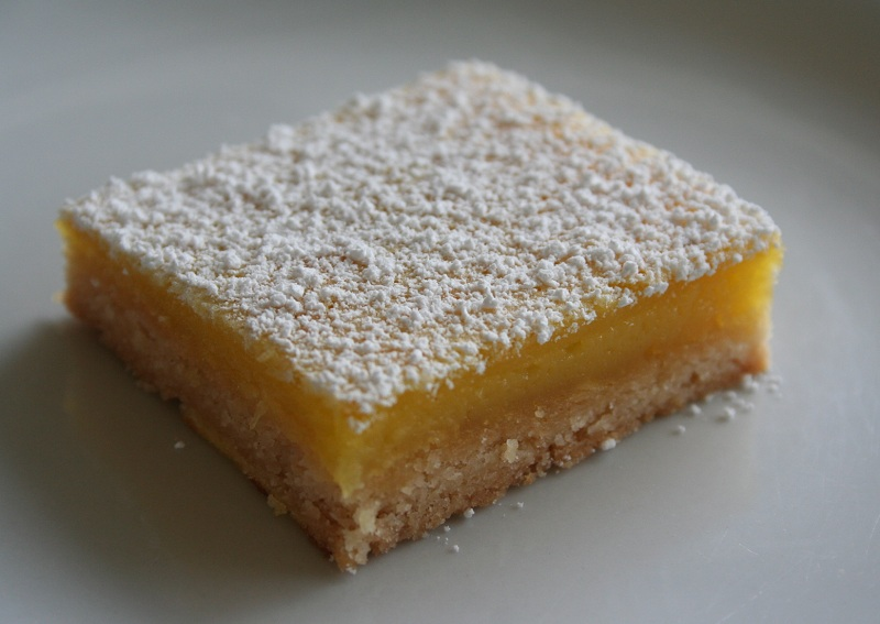 Meyer Lemon Bars (Recipe & Pictorial)