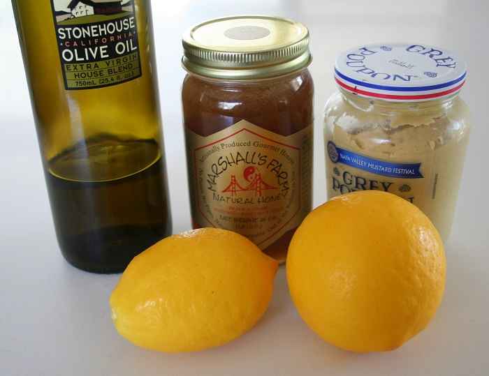 Meyer Lemon Dijon Salad Dressing