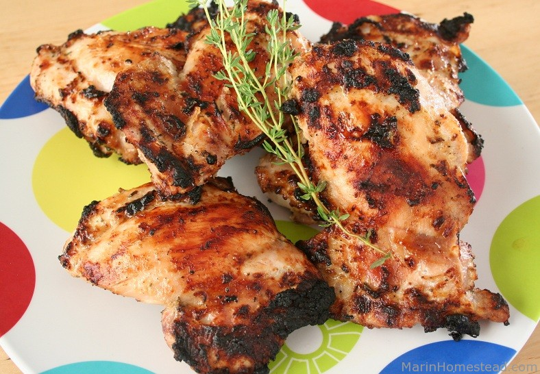 Yogurt Thyme Chicken