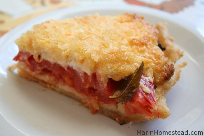 Tammy's Fresh Tomato Pie or Gratin
