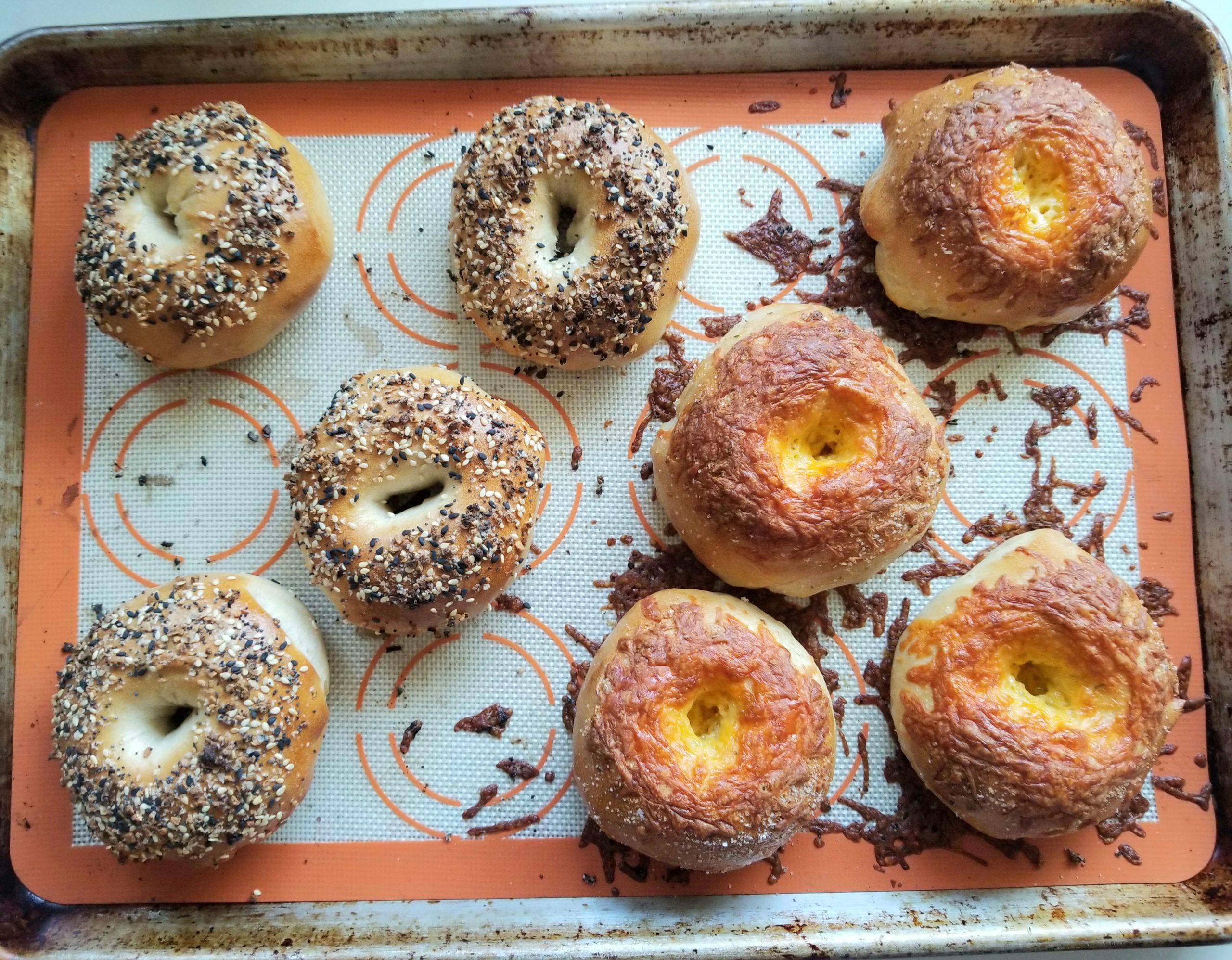 Overnight Sourdough Bagels